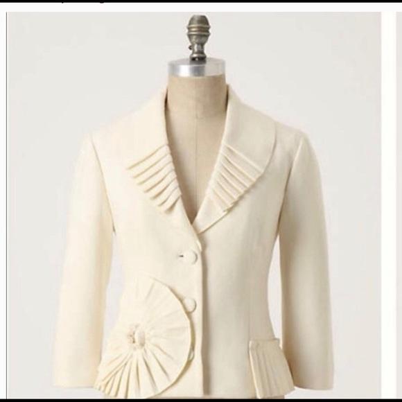 Anthropologie Jackets & Blazers - 🖤 New Tabitha by Anthropologie Sun Spiral blazer